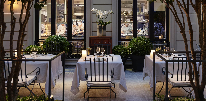 Fine Dining Restaurant Seta Chef Mandarin Oriental