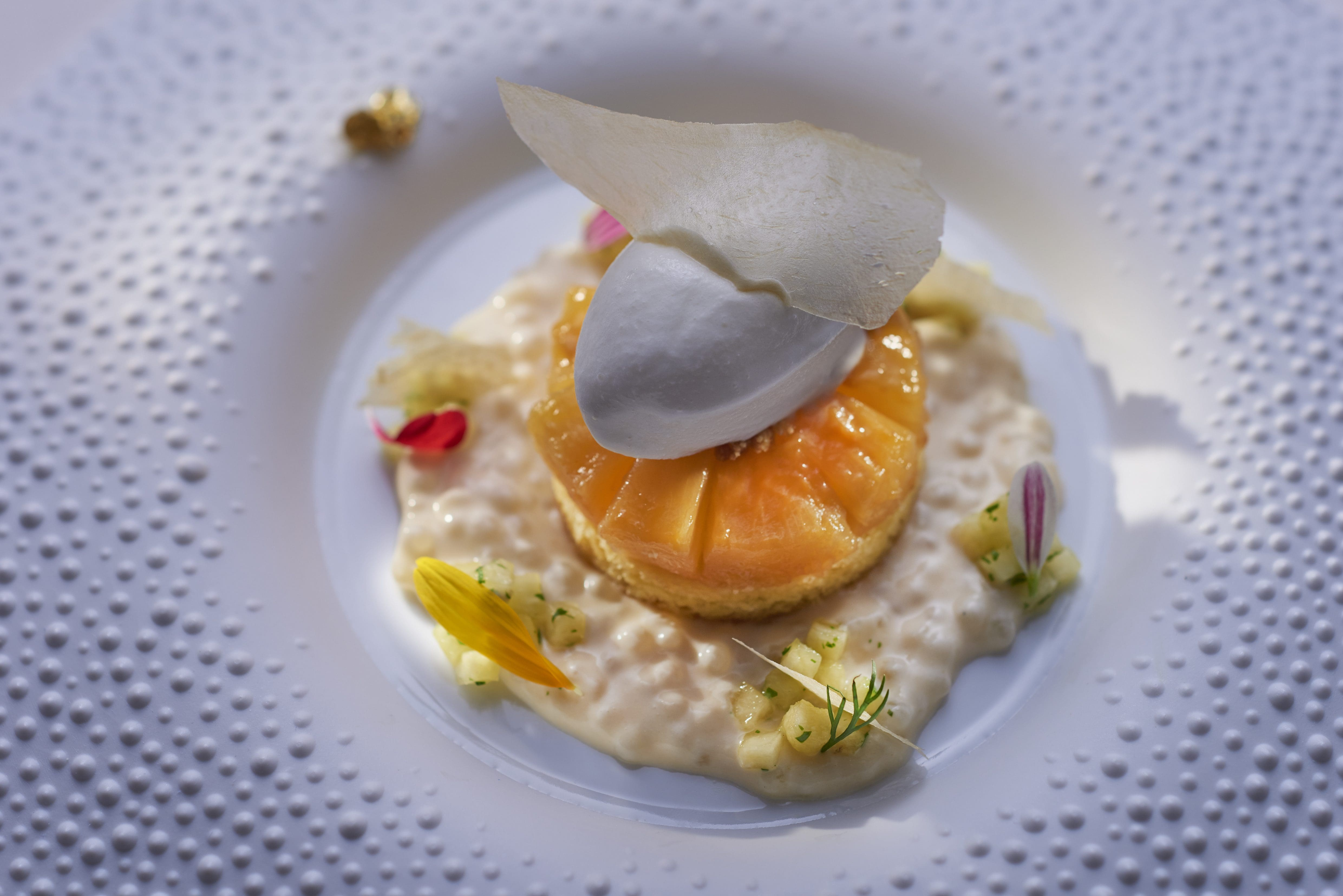 Two Michelin-starred Italian restaurant Seta at Mandarin Oriental, Milan