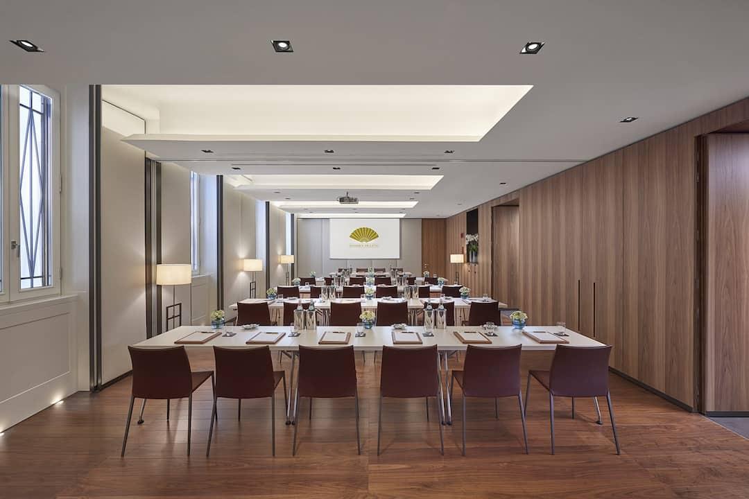 Business meeting venue mandarin oriental hotel milan for Mandarin oriental spa milan
