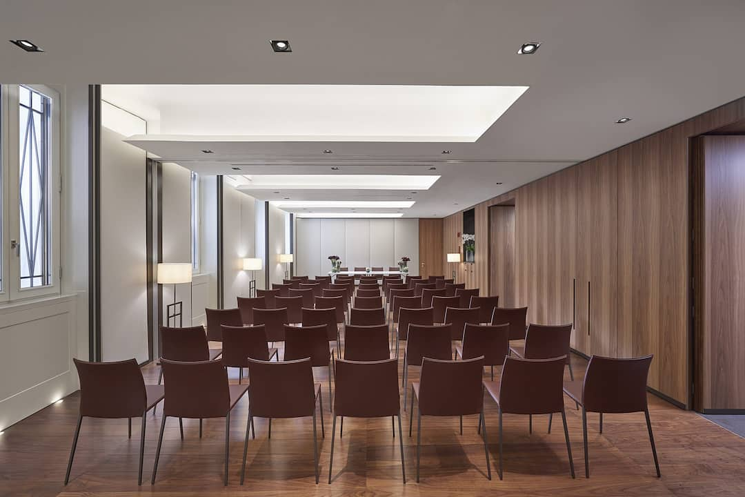 meeting venue in theatre style