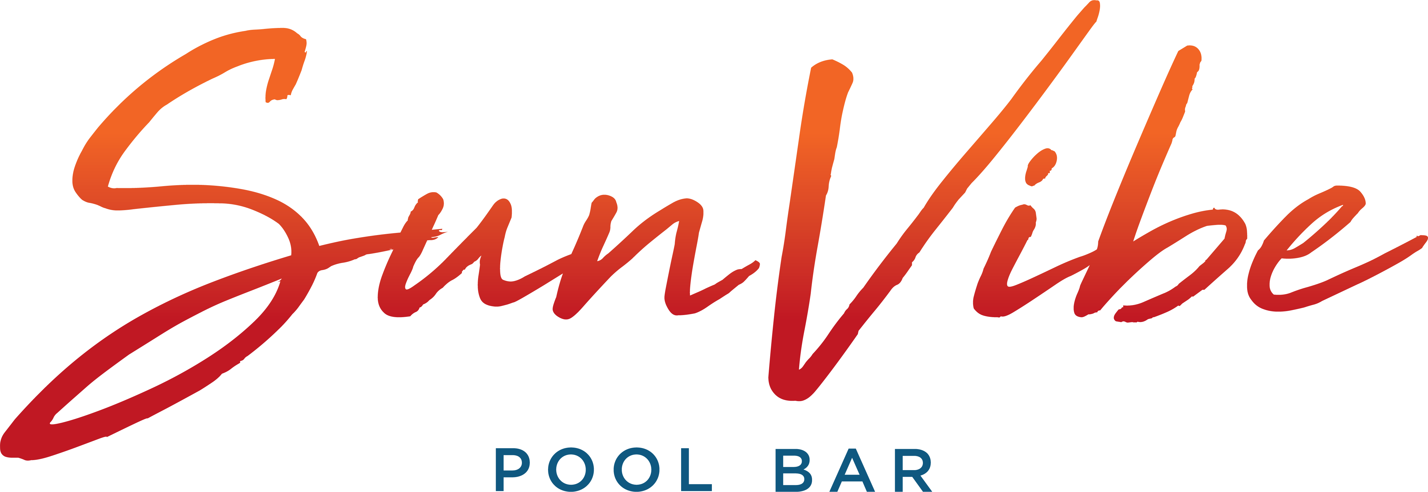 SunVibe Pool Bar Logo