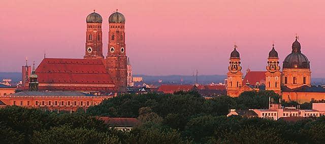 Munich rooftop views