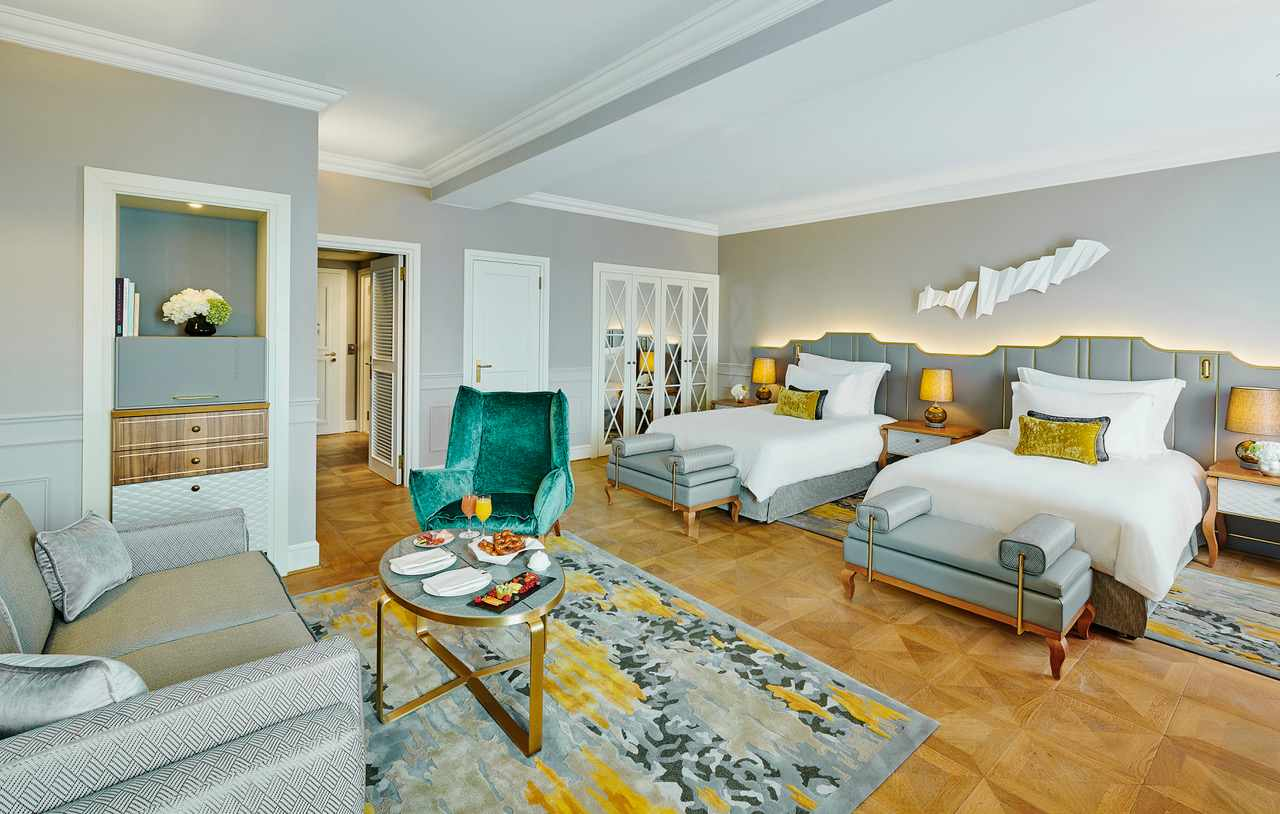 2 Bedroom Tower Munich Hotel Suites Mandarin Oriental Munich