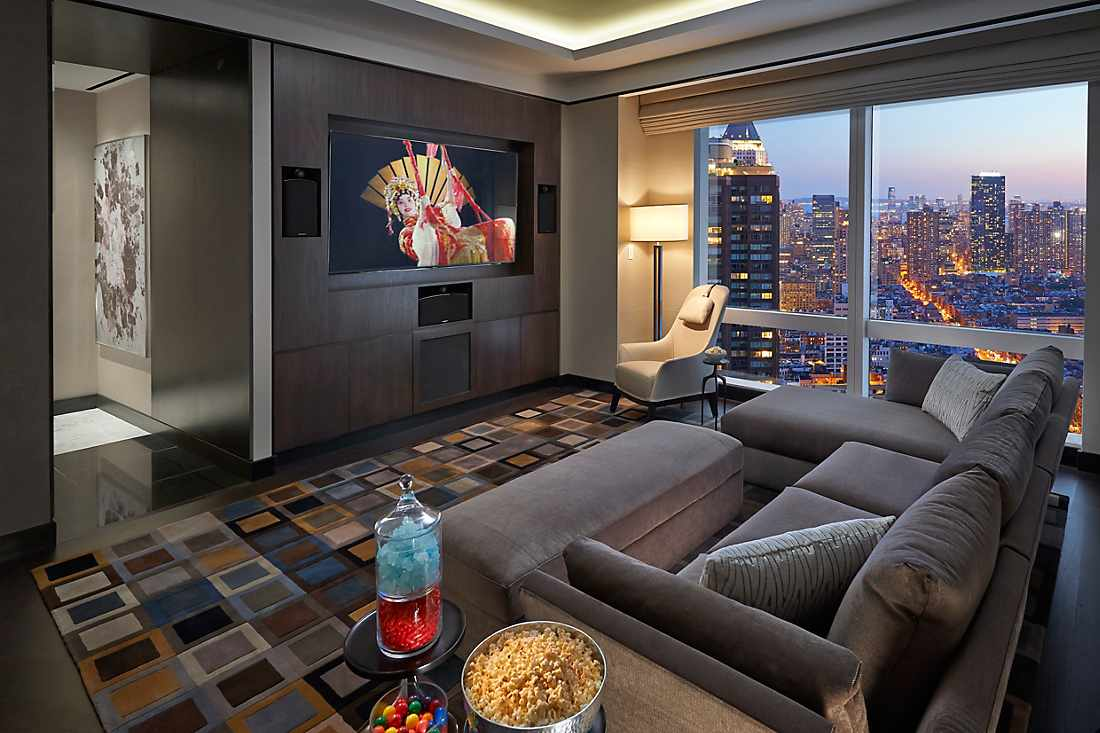Suite 5000 second media room