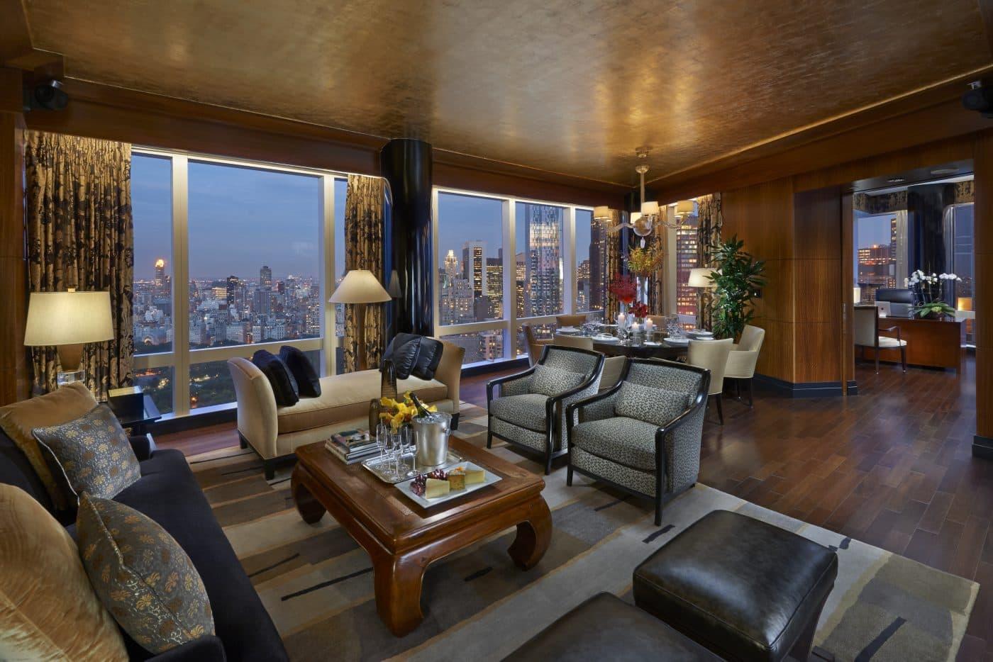 luxury 5 star hotel manhattan mandarin oriental new york rates from