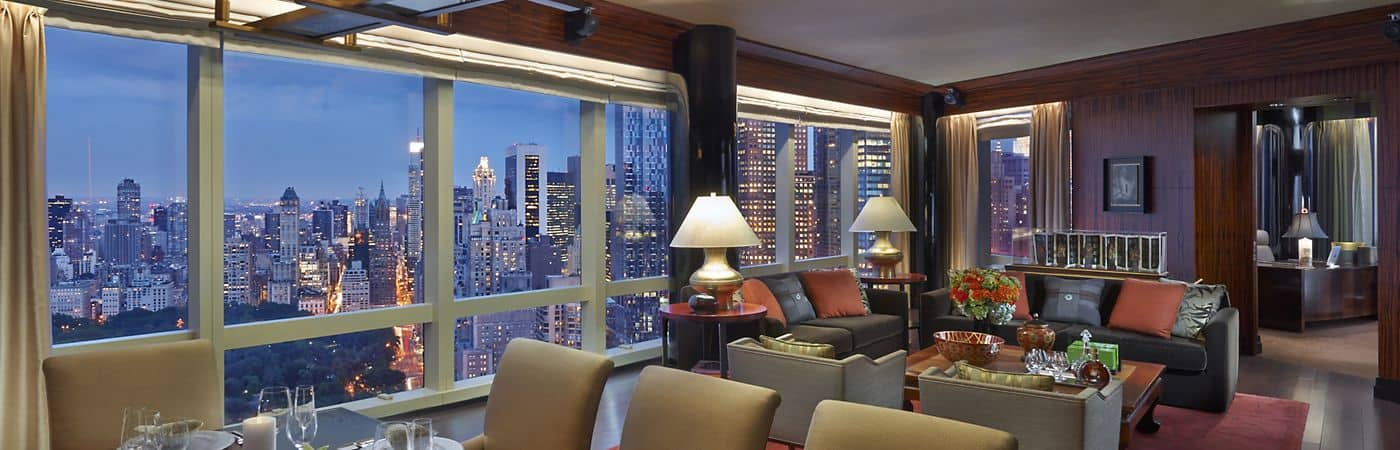 Hotel Accommodation Rooms Mandarin Oriental New York