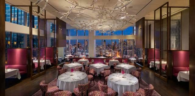 Asiate restaurants in manhattan mandarin oriental new for American cuisine in nyc