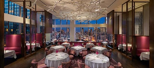 Best Restaurants Bars Amp Lounges Mandarin Oriental New York
