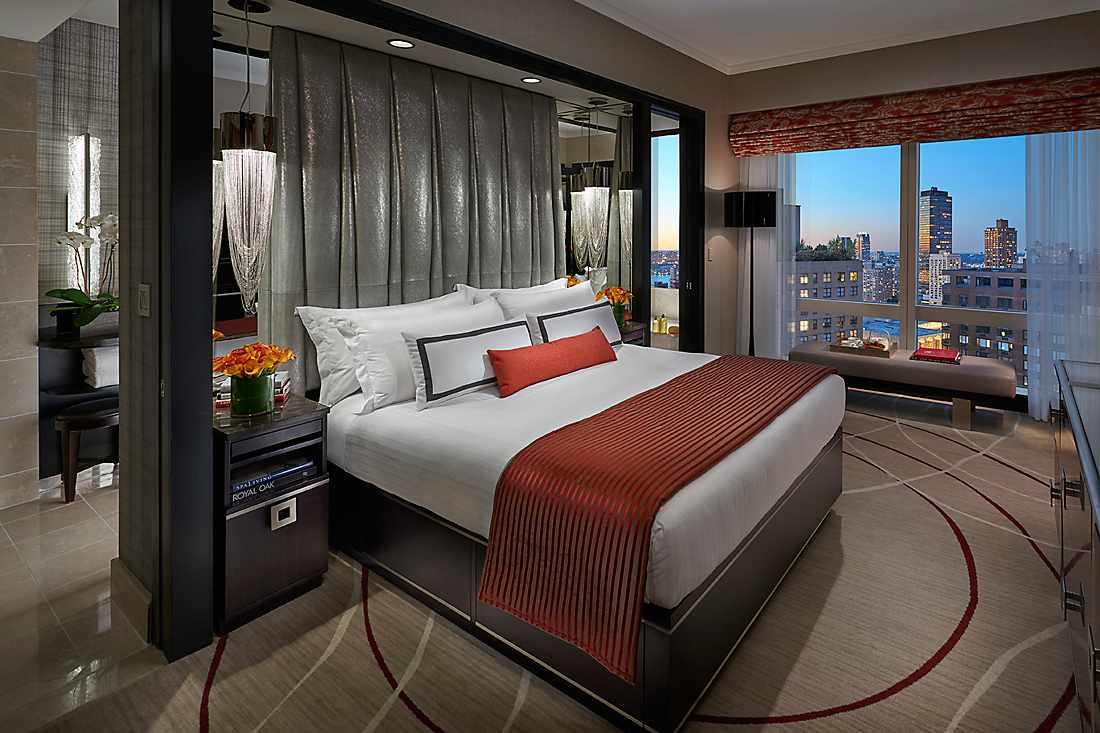 Central Park View Suite bedroom