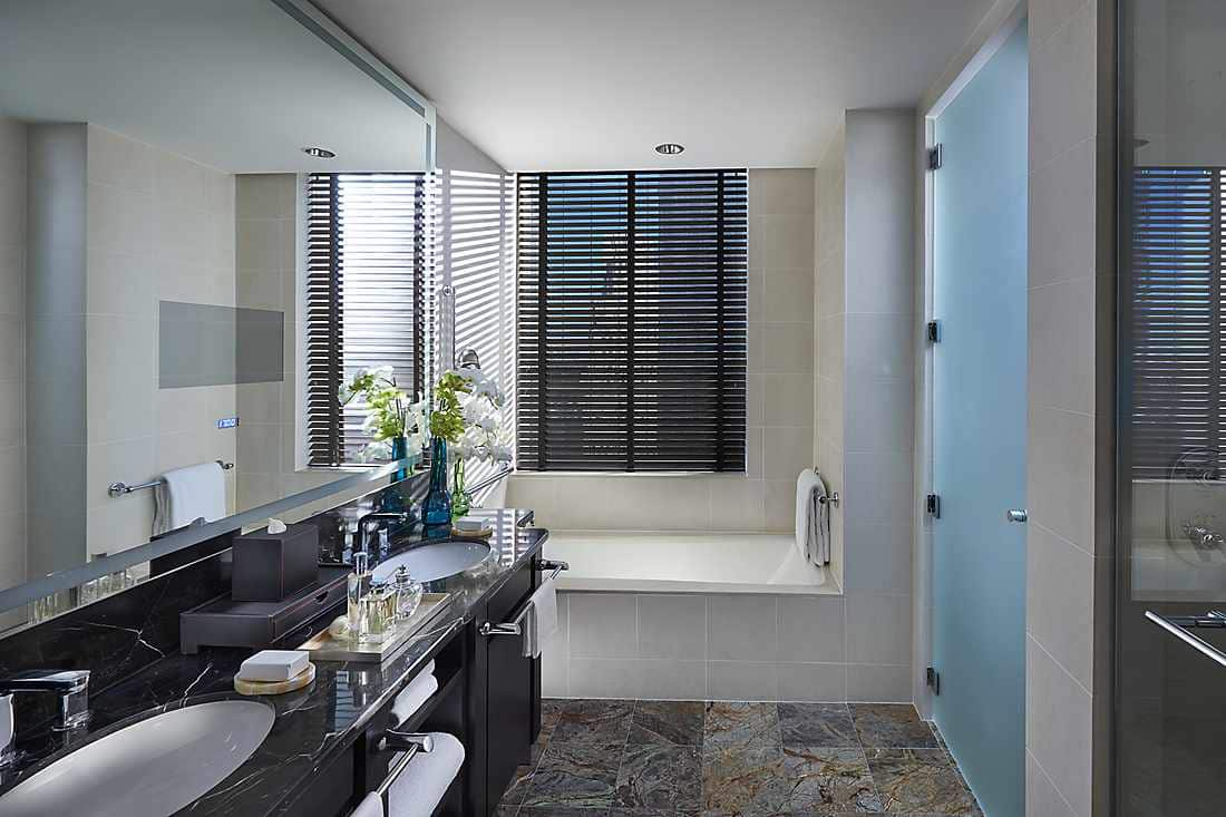 Two Bedroom Central Park West Suite bathroom