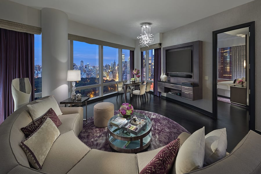 Two Bedroom Central Park West Suite New York