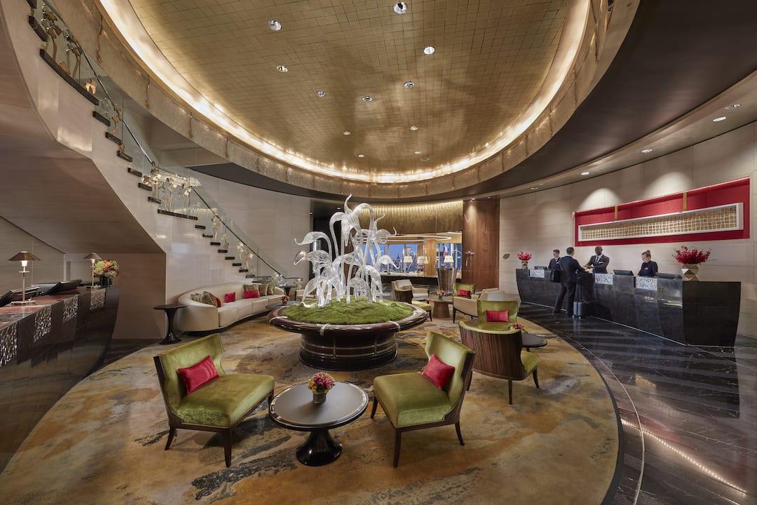 new york hotel lobby