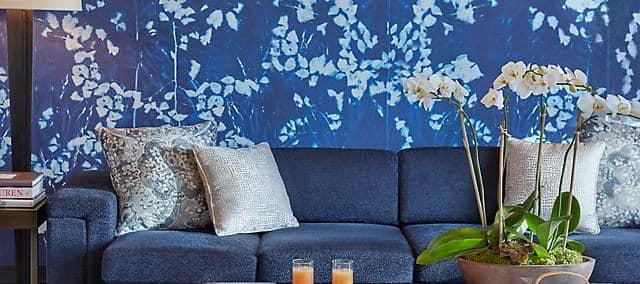 oriental suite living room sofa