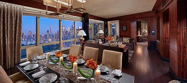 Meridienne Moderne Pour Salon hébergements de luxe à manhattan | mandarin oriental, new york