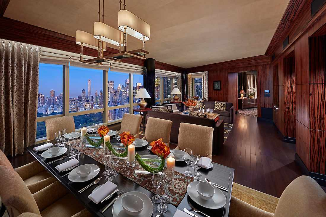 mandarin new york presidential suite living