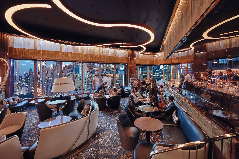 MO Lounge at Mandarin Oriental, New York