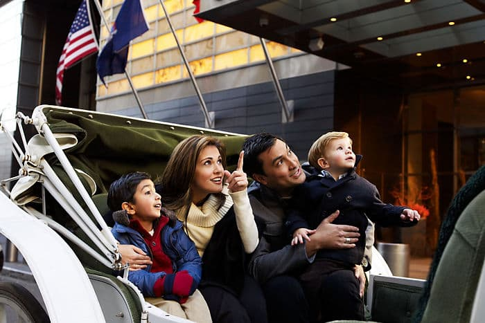 Mandarin Oriental, New York is a family-friendly hotel accommodating guests of all ages.