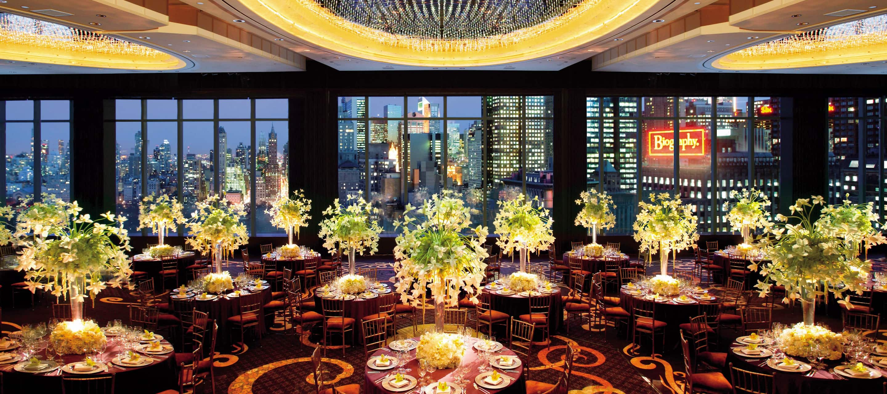 Luxury Wedding Reception Venue | Manhattan Hotel | Mandarin
