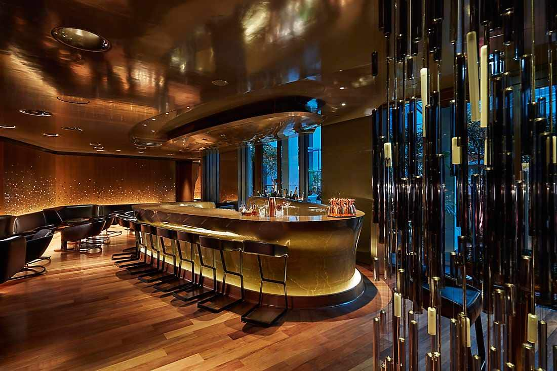 Bar 8 interior