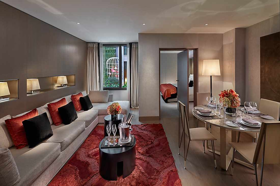 Couture Suite living room