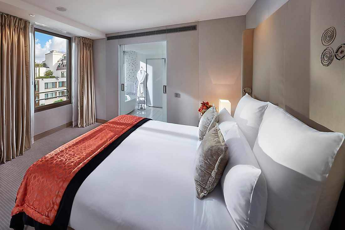 Couture Suite bedroom