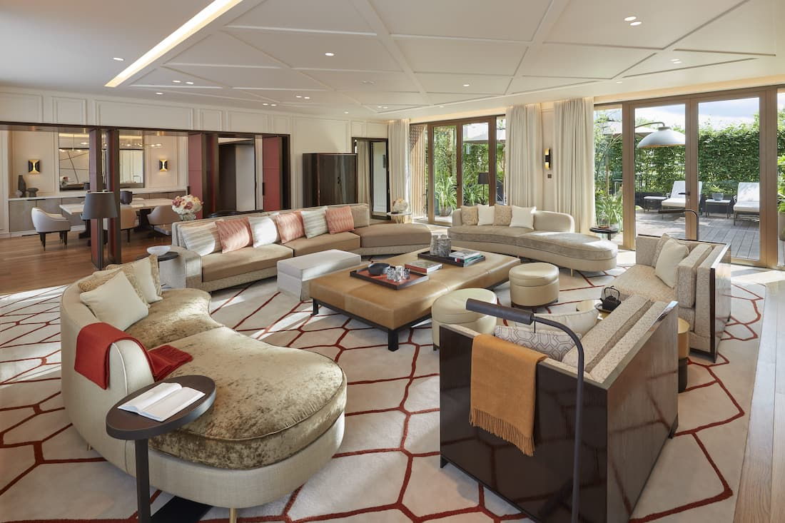 The Parisian Apartment Living Room