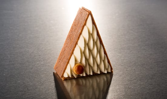 St Honore cake from the Cake Shop at Mandarin Oriental, Paris