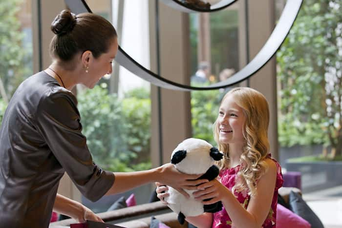 Mandarin Oriental, Barcelona is a family-friendly hotel accommodating guests of all ages.