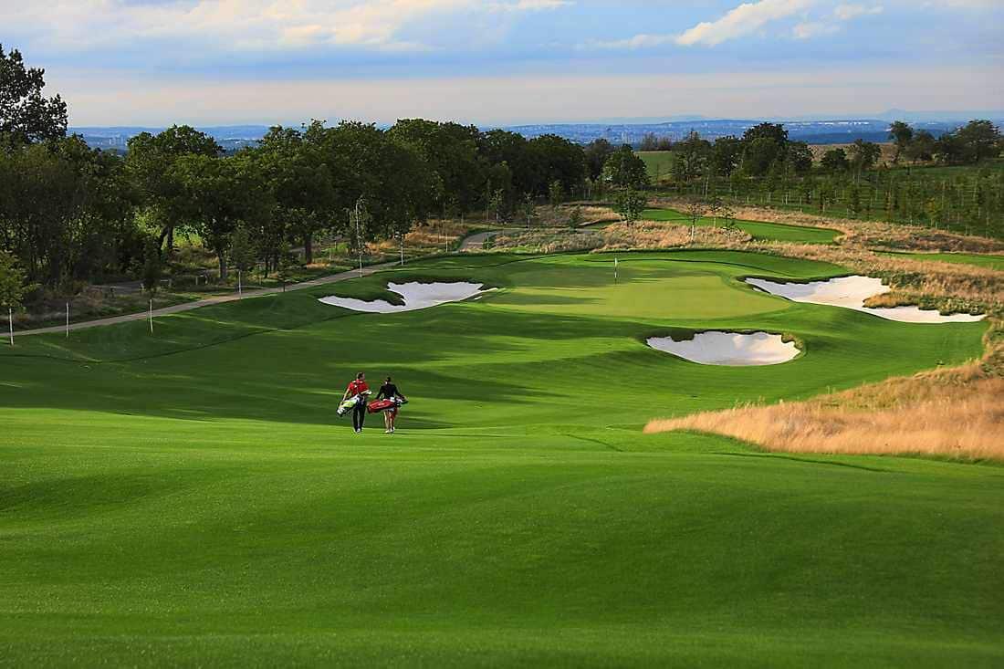 golf course in prague
