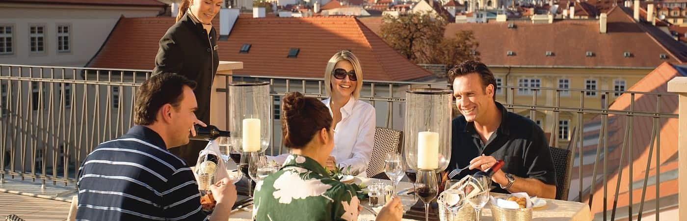 Enjoy countless fine dining options at the Mandarin Oriental, Prague and treat yourself with one of our enticing spa or accommodation packages.