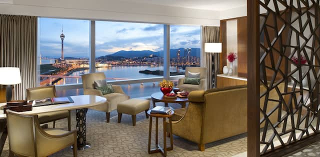 Dynamic By Day And Dramatic Night The Residences Apartments At Mandarin Oriental Macau Promise Both Relaxation Excitement
