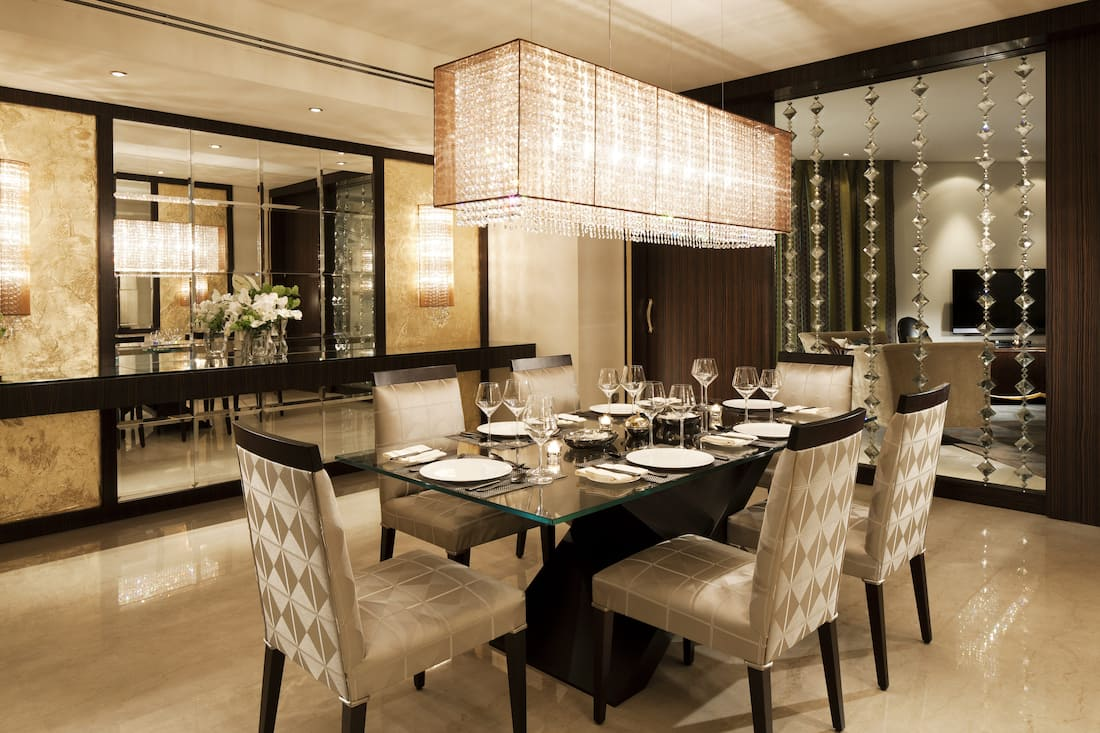 private dining in royal diamond suite