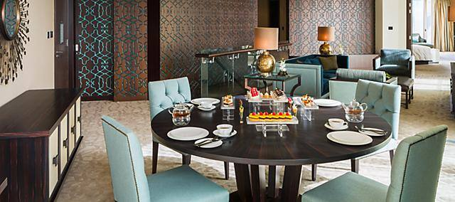 private dining for in-room dining
