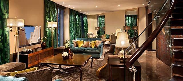 south wing royal diamond living room