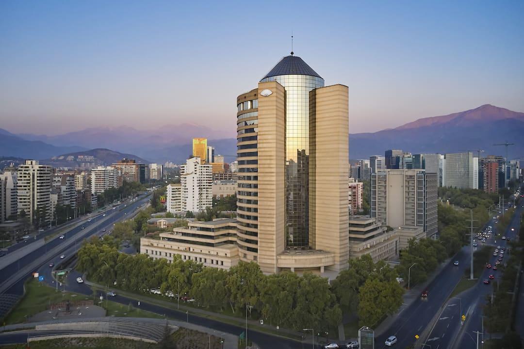 Santiago building exterior