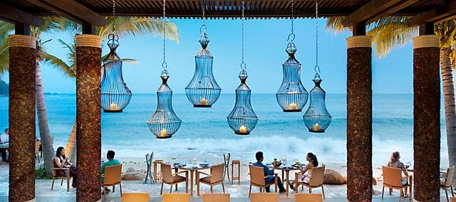 fresh restaurant at mandarin oriental, sanya