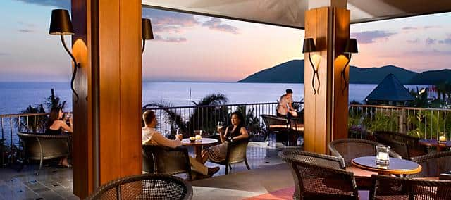 sunset bar at mandarin oriental, sanya