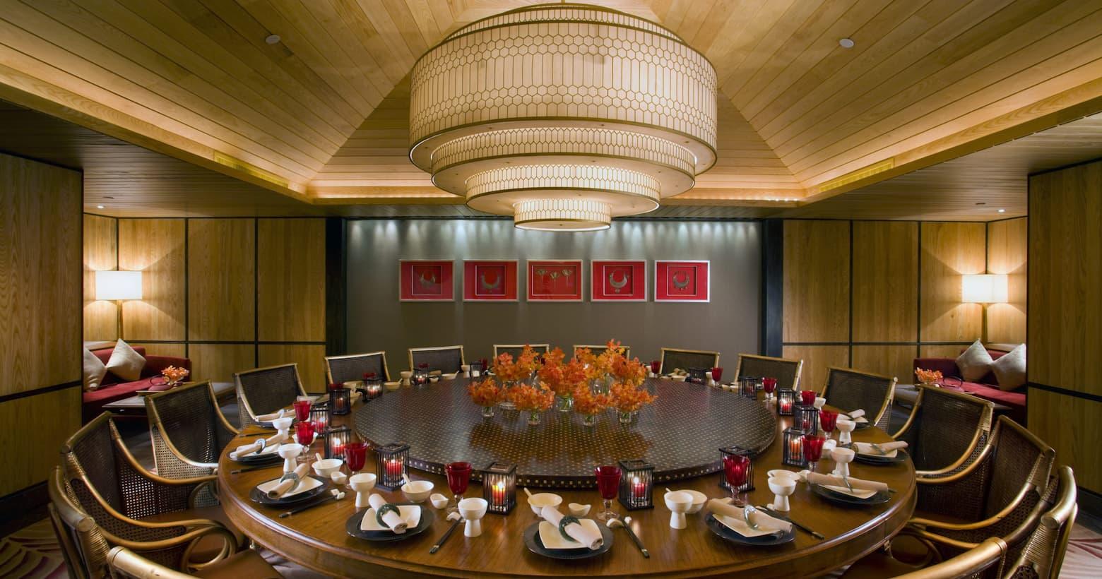yi yang dining area