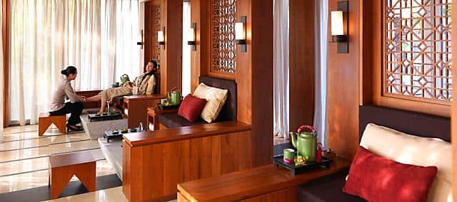 spa treatment at mandarin oriental, sanya