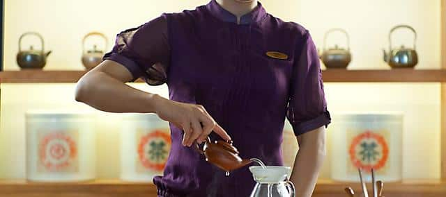 tea service at mandarin oriental, sanya