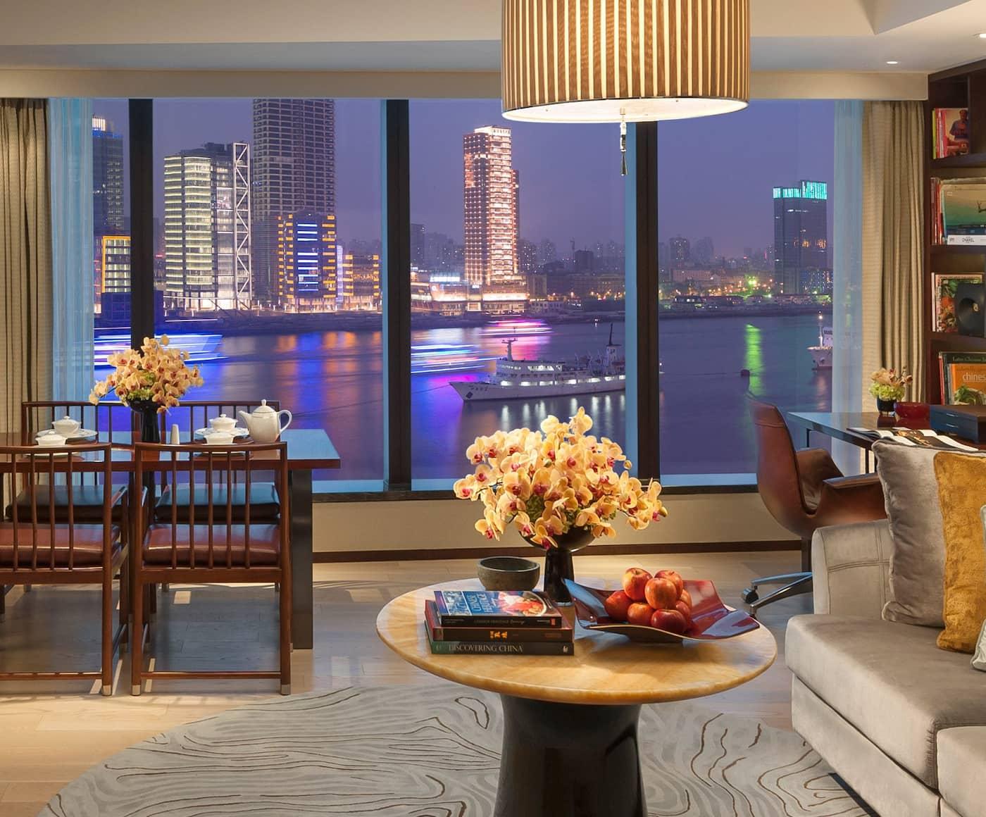 5 Sterne Luxus Hotel Pudong Mandarin Oriental Shanghai