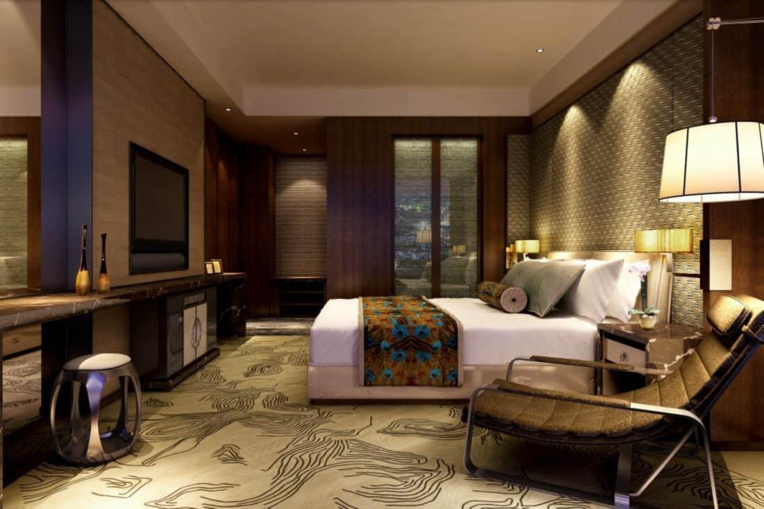 Studio Appartments: Mandarin Oriental, Shanghai