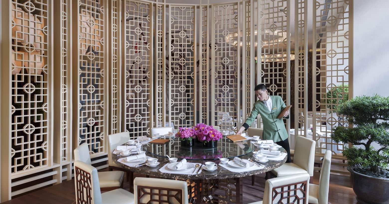雍颐庭私人用餐区