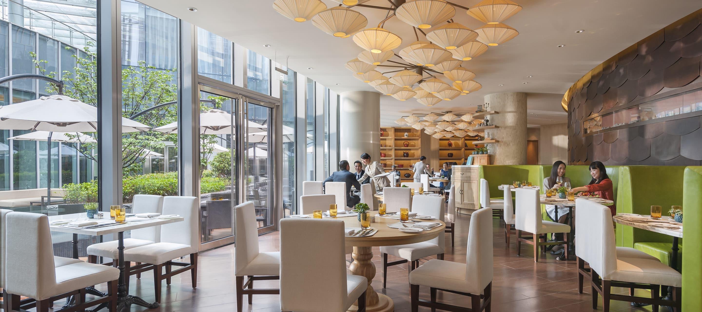 Zest Restaurant Mandarin Oriental Hotel Shanghai