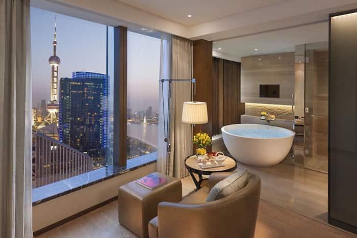 Mandarin River View Room Mandarin Oriental Hotel Shanghai