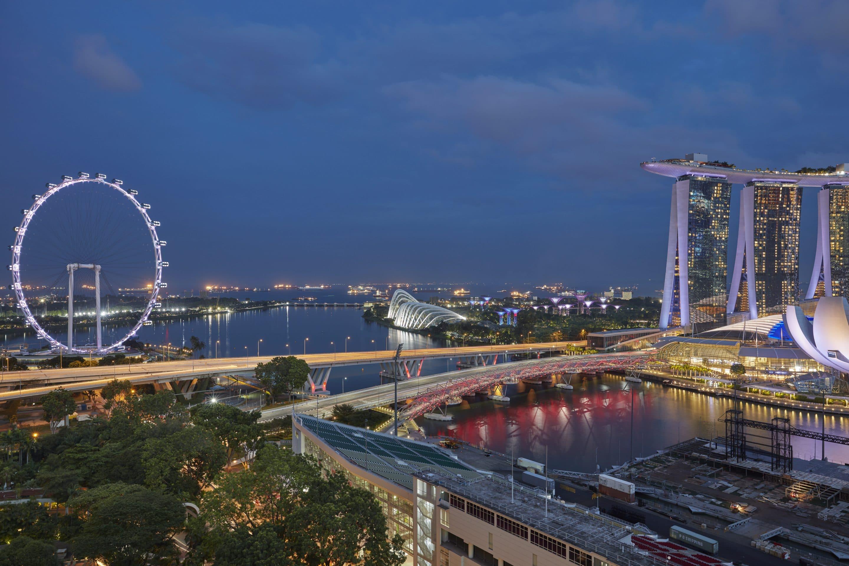 Marina Bay Hotel Map Directions Mandarin Oriental Singapore
