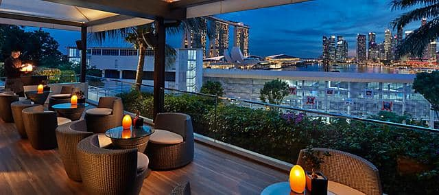 Bay@5 - Lounges Near Marina Bay | Mandarin Oriental, Singapore