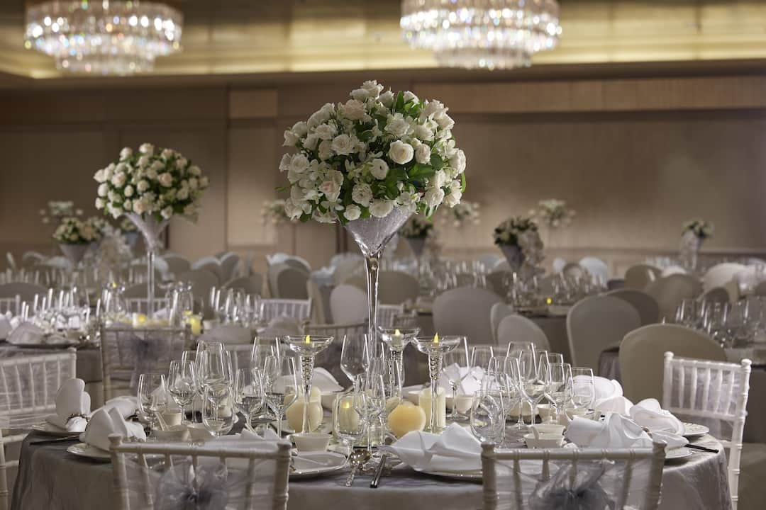 Luxury Wedding Reception Venue Marina Bay Hotel Mandarin