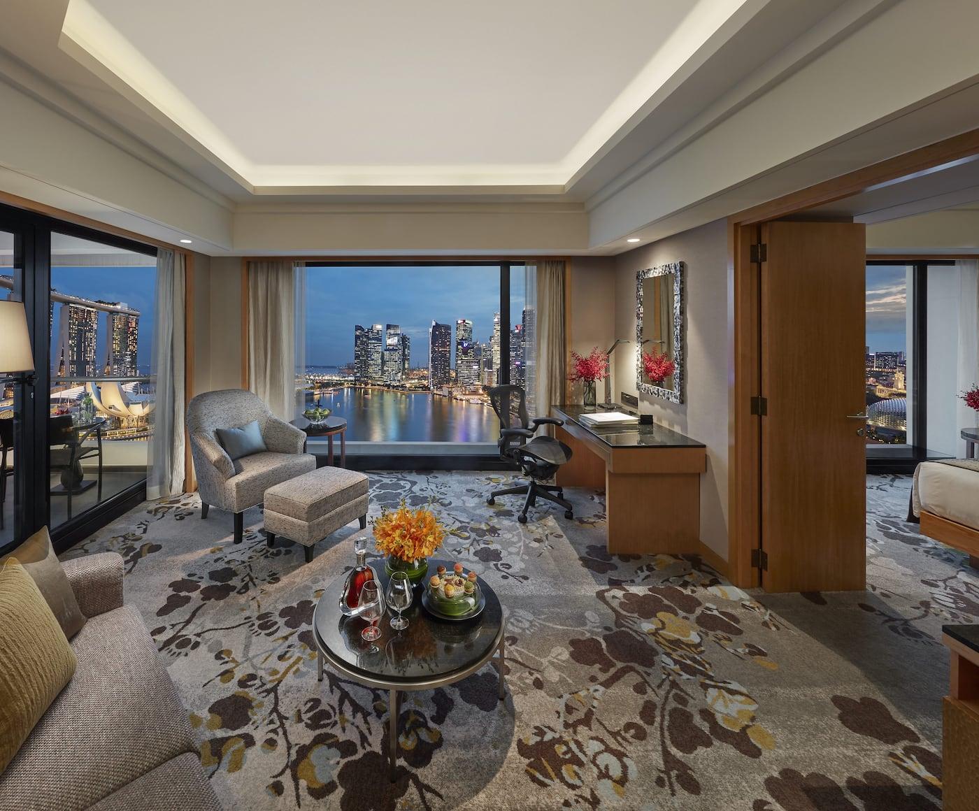 Luxuriöses Fünf-Sterne-Hotel | Marina Bay | Mandarin Oriental, Singapore