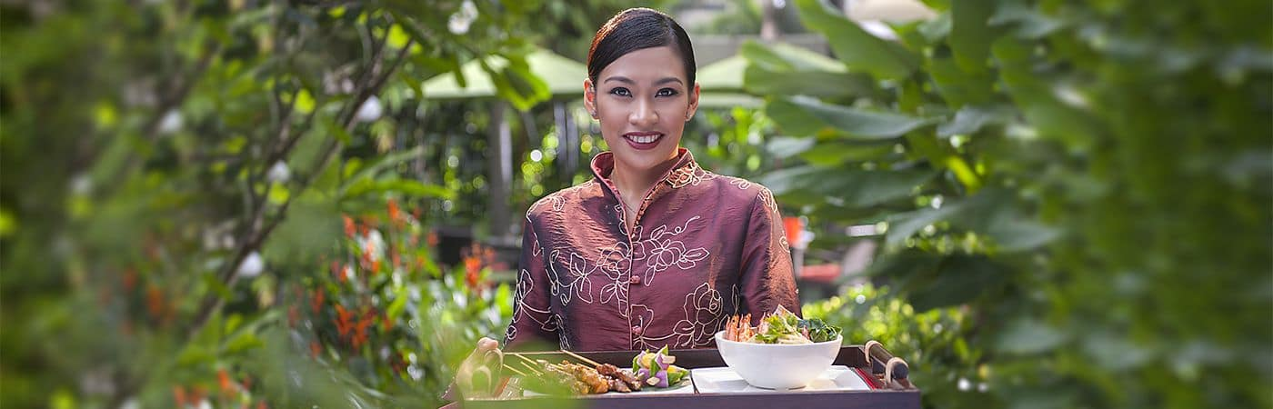 Mandarin Oriental, Singapore's fine dining options offer culinary delights for any palette